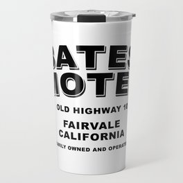 Psycho inspired Bates Motel logo Travel Mug