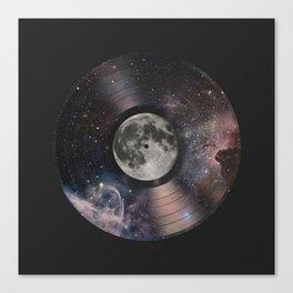 L.P. (Lunar Phonograph) Canvas Print