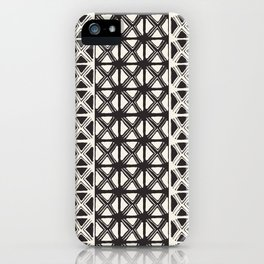 B&W Tribal #society6 #tribal iPhone Case