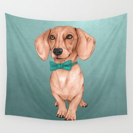 Dachshund, The Wiener Dog Wall Tapestry
