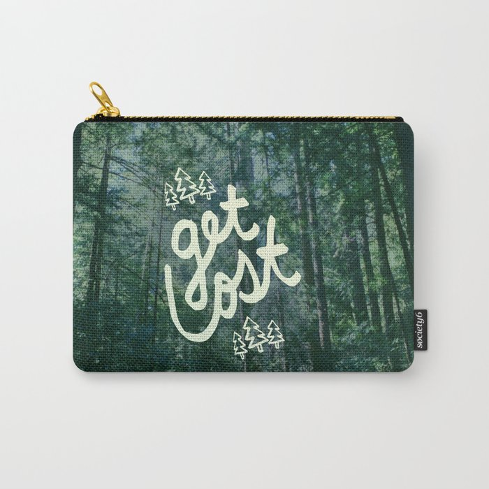 Get Lost x Muir Woods Carry-All Pouch