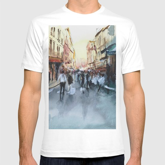 PARIS Street - Painting T-shirt