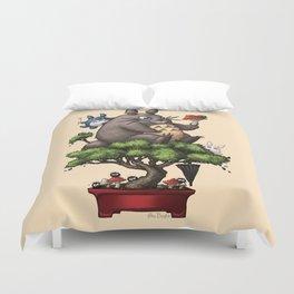 Forest Guardian Bonsai  Duvet Cover