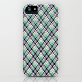 18 Plaid iPhone Case