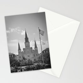 St. Louis Cathedral - Jackson Square, New Orleans Stationery Cards