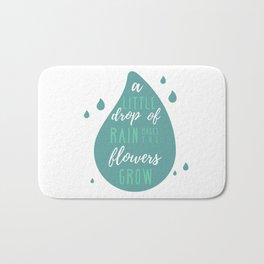 A Little Drop of Rain Bath Mat