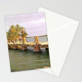 Taghaghien Island in Siwa, Egypt Stationery Cards