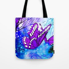 BUTTERFLY REFLECTIONS #2 Tote Bag