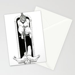 Sword of Damocles Stationery Cards