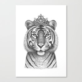 The Tigress Queen Canvas Print