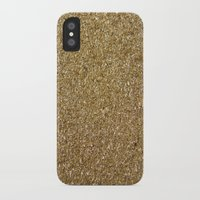 rose gold iPhone & iPod Cases featuring Gold by Rose Wierts