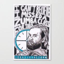 Joe Wilkinson Does Countdown Canvas Print