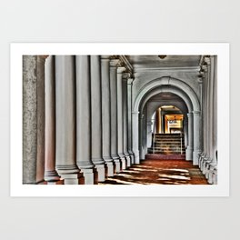 Pathway to Learning Art Print