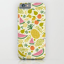 Fruit Mix iPhone Case