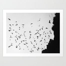 Black November Art Print