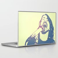 dave grohl Laptop & iPad Skins featuring Dave Grohl by Giuseppe Cristiano