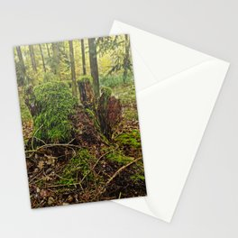 Feel the rain Stationery Cards