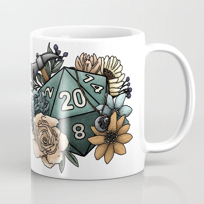 Cleric Class D20 - Tabletop Gaming Dice Coffee Mug