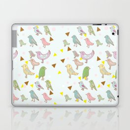 Bird Pattern Laptop & iPad Skin