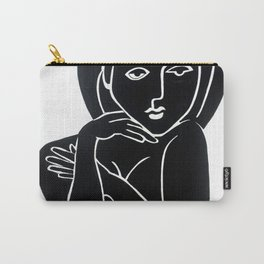 Vanity Girl -  POP ART PAINTING GIANT PRINTS Nude Carry-All Pouch