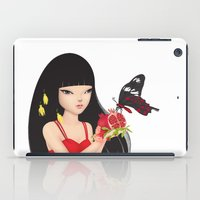 ruby iPad Cases featuring Ruby by Anne  Martwijit