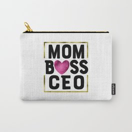 MOM BOSS CEO Carry-All Pouch