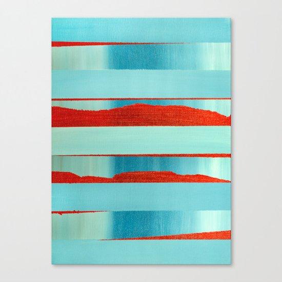 Blue Edge Canvas Print