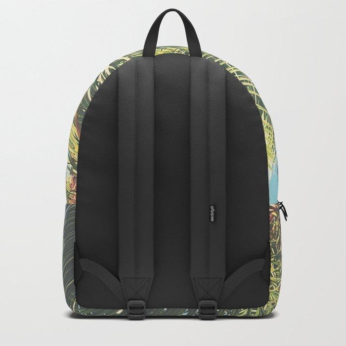 Summer Time II Backpack