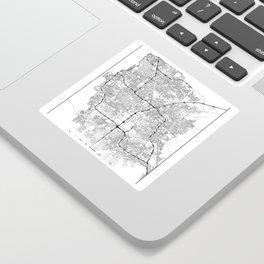 Minimal City Maps - Map Of Las Vegas, Nevada, United States Sticker