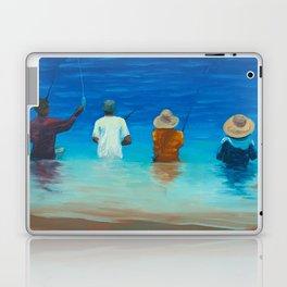 Haleiwa Fishermen Laptop & iPad Skin