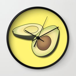 'AVE AN AVO Wall Clock