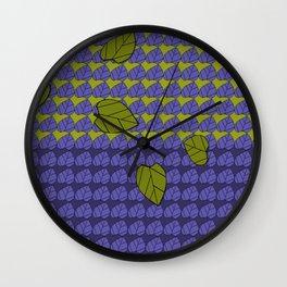 leafpatdesignblown Wall Clock