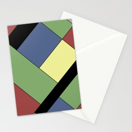 Abstract #822 Stationery Cards