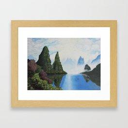 Guilin Valley China Framed Art Print