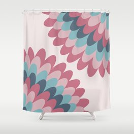 Dahlia at Bedroom Shower Curtain