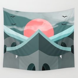 The House of Rising Sun Wall Tapestry