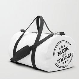 Mom Of All Things Duffle Bag