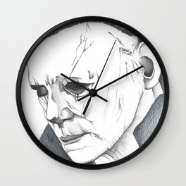 Happy Halloween, Michael Myers Portrait Wall Clock