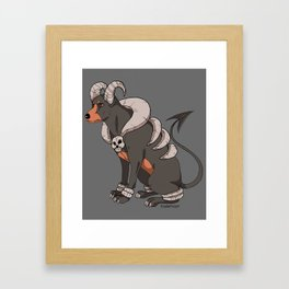 Hell Hound Framed Art Print