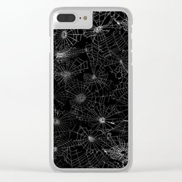 cobwebs Clear iPhone Case