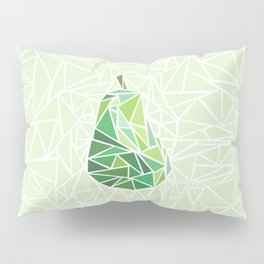 Pear geometry Pillow Sham