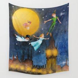 Peter Pan Nursery Decor Wall Tapestry