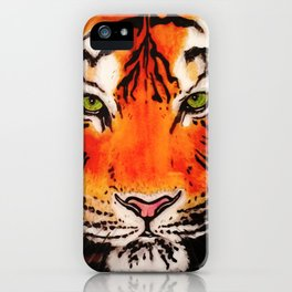 Tiger in the Shadows iPhone Case