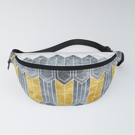 Turtle Shell Geometric | Art Deco Fanny Pack