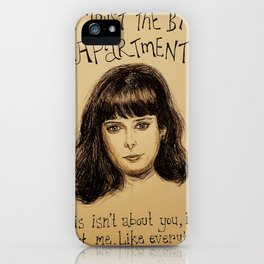 (Krysten Ritter - Don't trust the bitch in apartment 23) - yks by ofs珊 iPhone Case