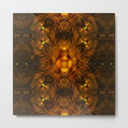 Illusion Of Matter Metal Print