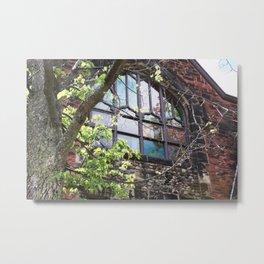 Church Window, Charlottetown Metal Print
