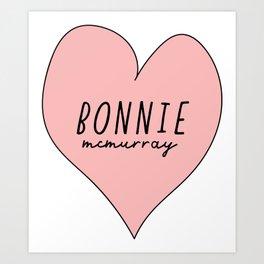 Bonnie McMurray Art Print
