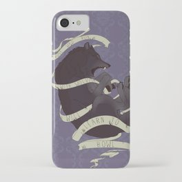 Running with wolves iPhone Case