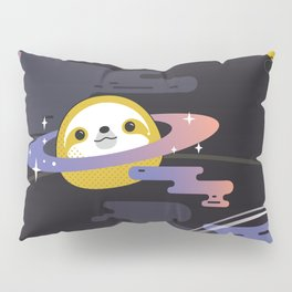 Planet Sloth Pillow Sham